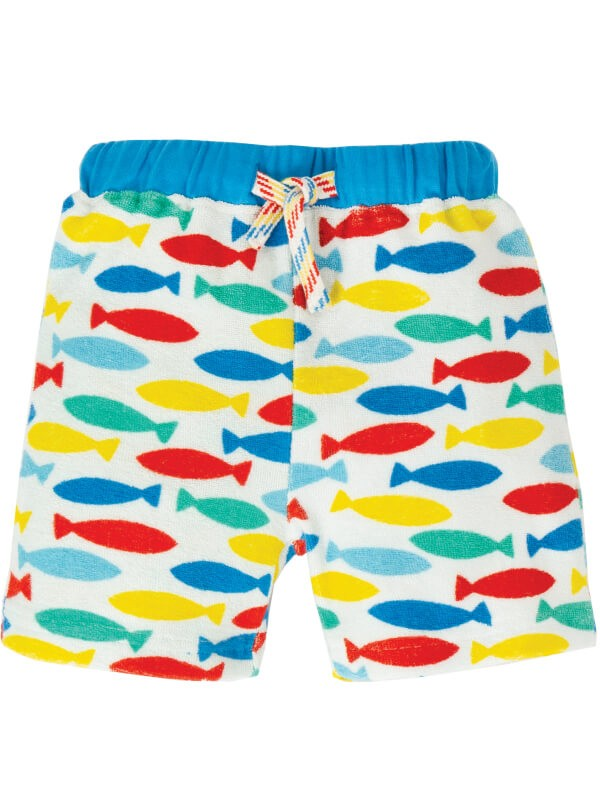 Pantaloni din frotir pentru plajă Towelling Fish