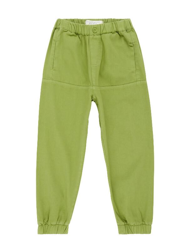 Pantaloni din twill subţire Bimisi Green