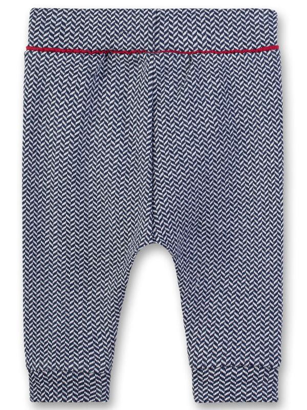 Pantaloni eleganţi bebe, cu volane aplicate