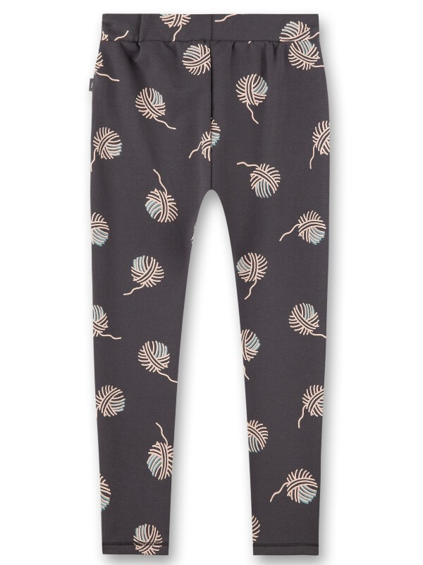 Pantaloni fete Sanetta Pure Grey