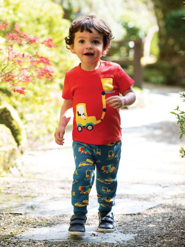 Pantaloni lungi copii Snuggle Dig A Rainbow