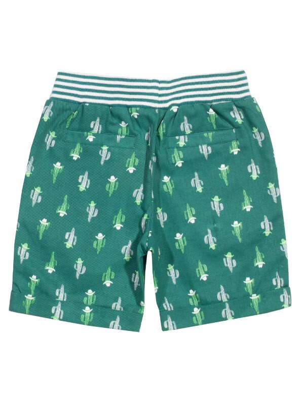 Pantaloni scurţi băieţi, imprimeu cactus