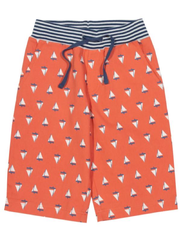 Pantaloni scurţi băieţi Sail boat