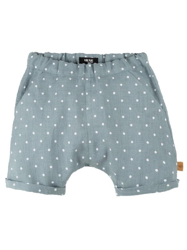 Pantaloni scurţi in Minty buline