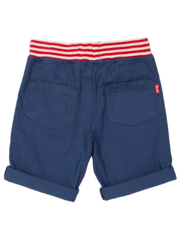 Pantaloni scurţi bebe Mini Yacht Navy