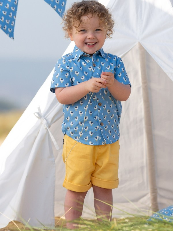Pantaloni scurţi Mini Yacht Yellow