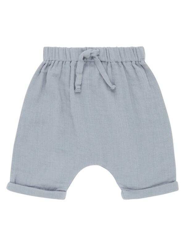 Pantaloni scurţi muselină Charlie Dusty Blue