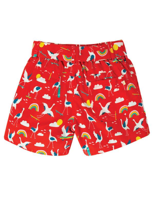 Pantaloni scurţi reversibili fete Seren