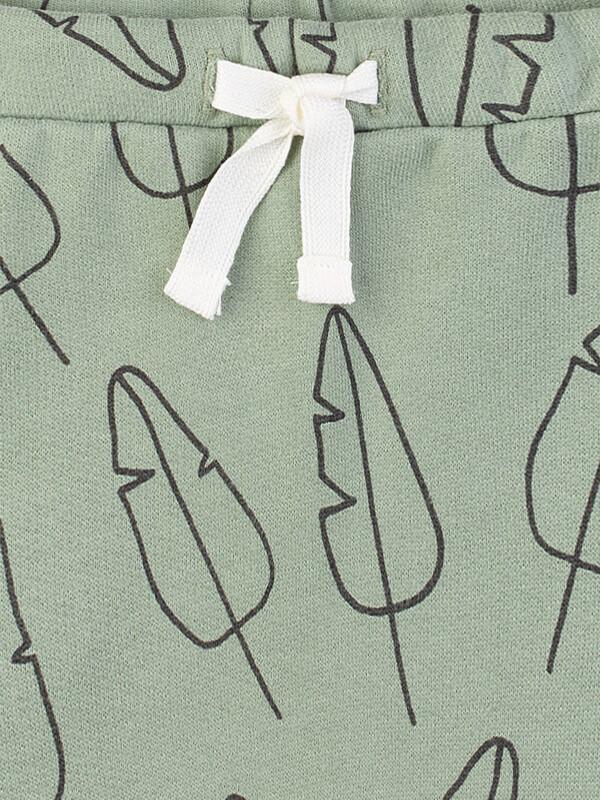 Pantaloni sport verzi Sanetta Pure