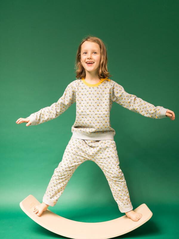 Pantaloni bebe Talia Berry Print