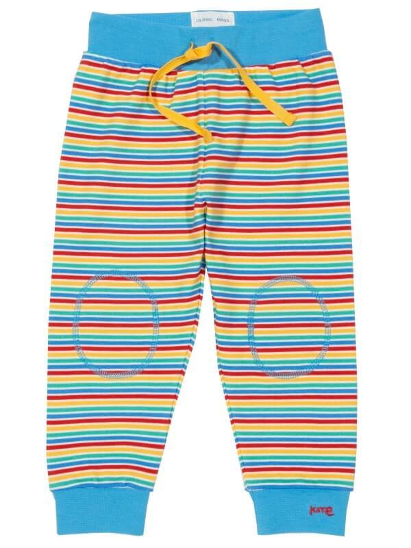 Pantaloni trening bebe Rainbow