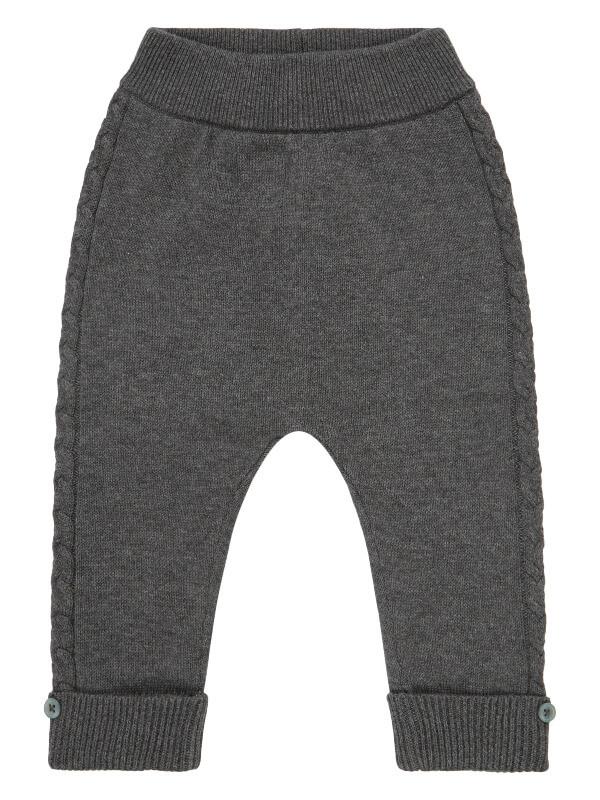 Pantaloni tricotaţi bebeluşi Pablo Dark Grey