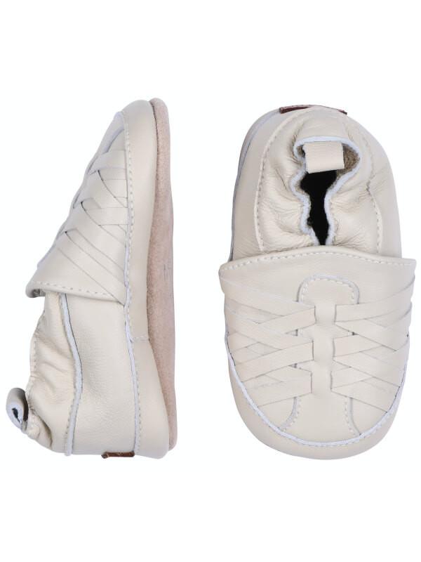 Papuci din piele copii Irish Cream