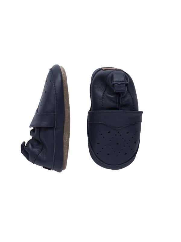 Papuci din piele, copii, Argyle Marine