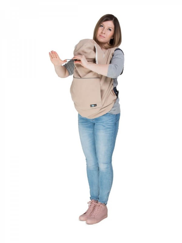 Protecţie din fleece pentru babywearing Bunny Ears
