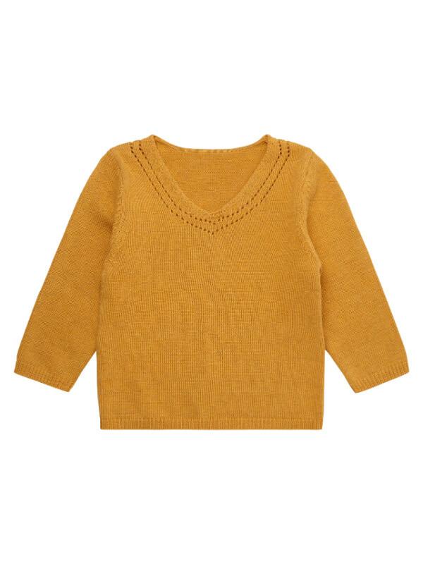 Pulover bebeluşe Helki Mustard
