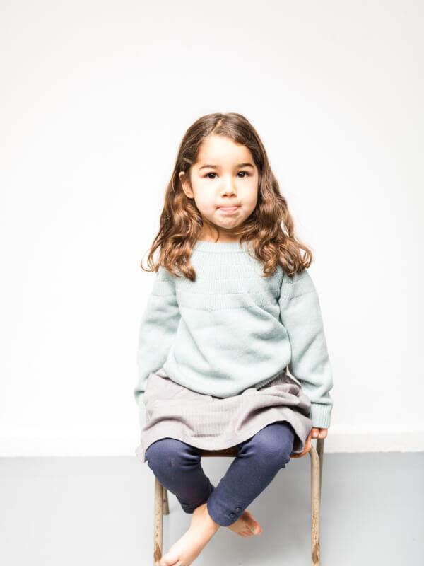 Pulover tricotat bebe Gaho Light