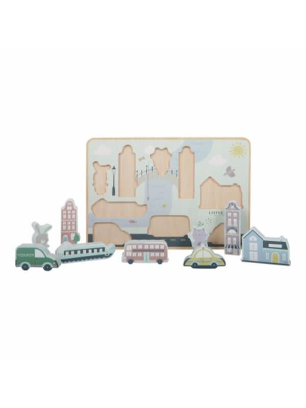 Puzzle 3D Oraşul Olandez