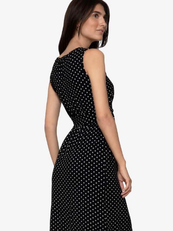 Rochie pentru sarcină şi alăptare Zoo Black Dots