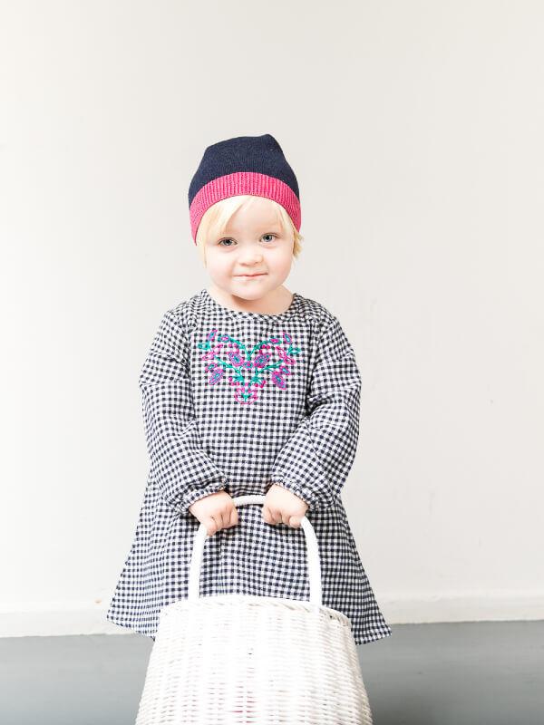 Rochiţă bebe Chenova carouri
