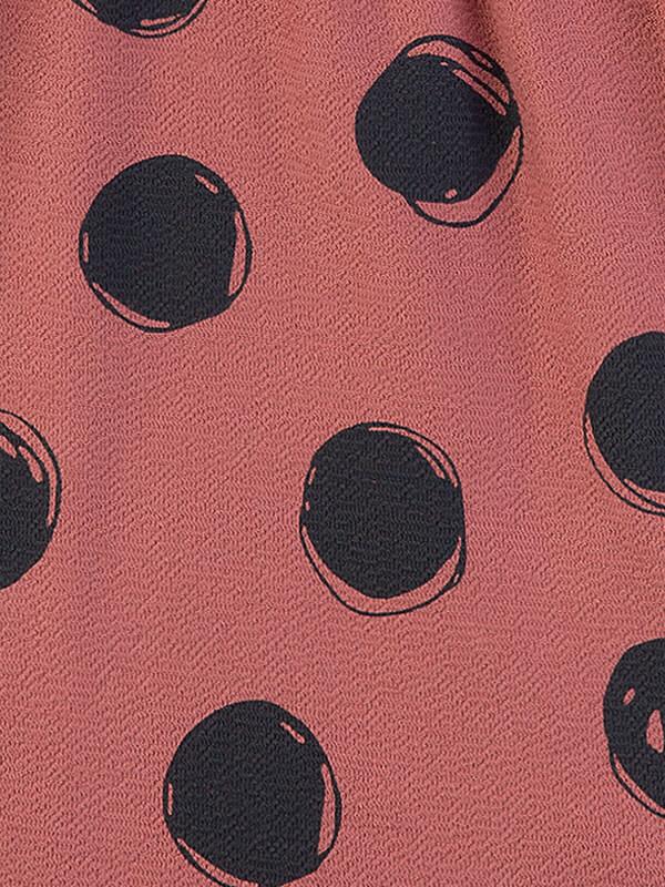 Rochiţă fete Sanetta Pure, imprimeu buline negre