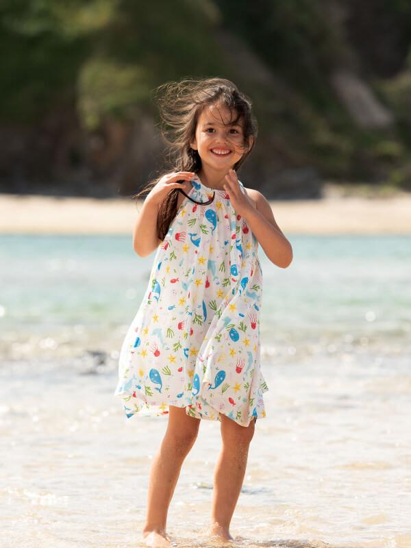 Rochiţă fetiţe Tabitha Splashing About
