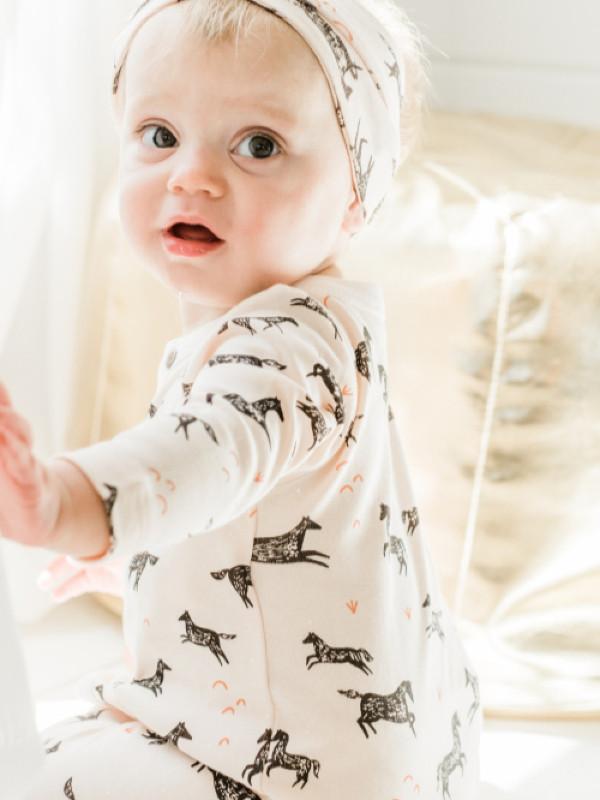Salopetă bebe Wildhorses