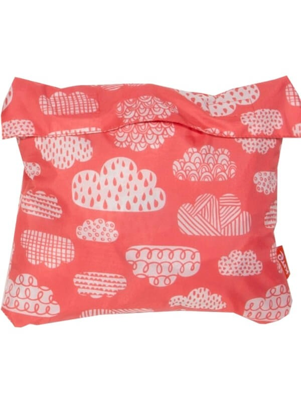 Salopetă impermeabilă bebe Puddlepack roşie