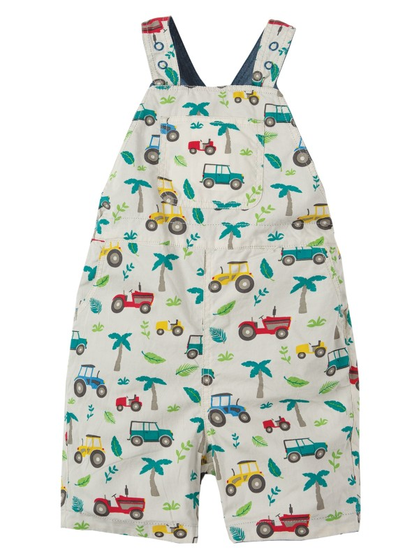 Salopetă reversibilă bebe Rory Tropical Tesco