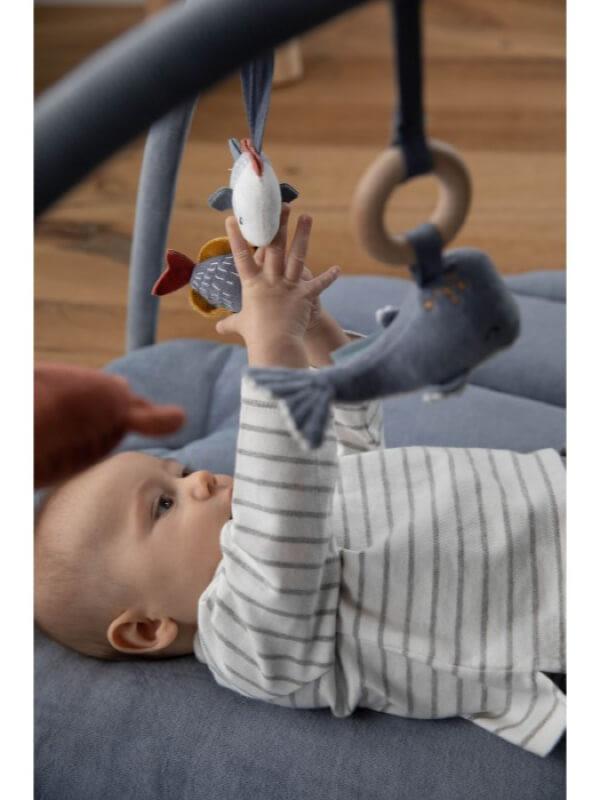 Salteluţă joacă bebe Ocean Blue