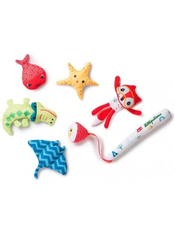 Set jucării baie Pescuieşte cu Alice
