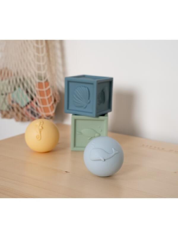Set jucării de baie din silicon