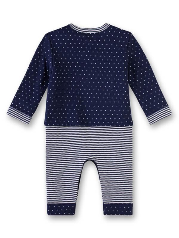Set pantaloni şi bluză bebe