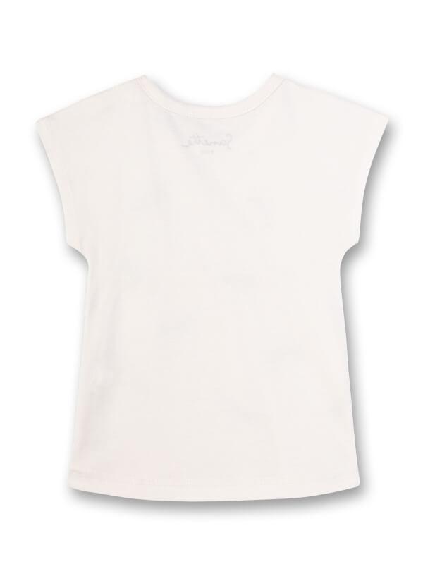 Tricou alb fetiţe