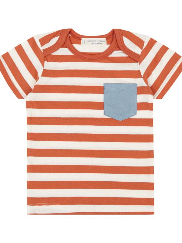 Tricou bebe Tobi Orange