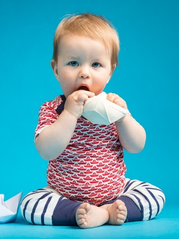 Tricou bebe Tobi roşu