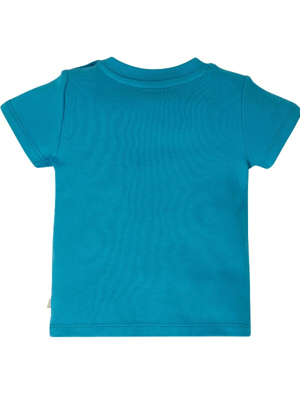 Tricou bebeluşi Little Creature Blue