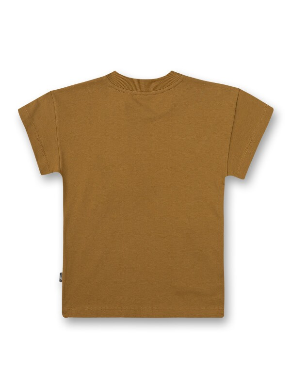 Tricou cu buzunare băieţi Mustard