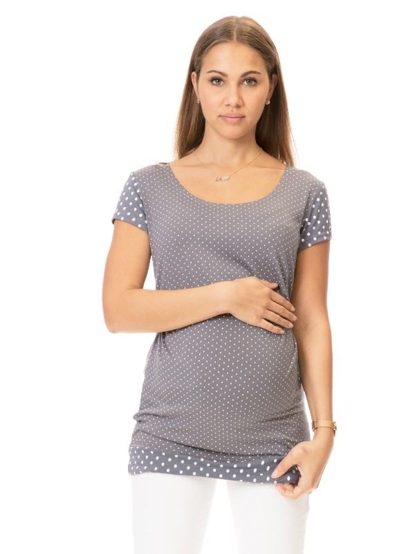 Tricou pentru sarcină şi alăptare Chania