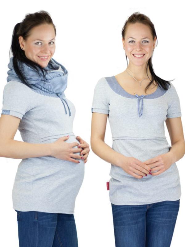 Tricou sarcină şi alăptare Arabela