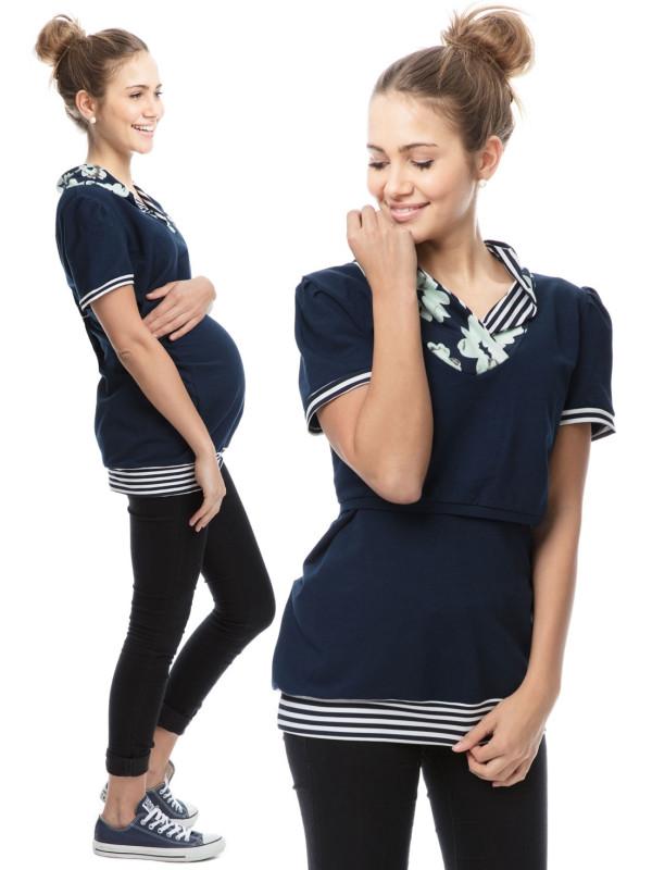 Tricou sarcină şi alăptare Jenny