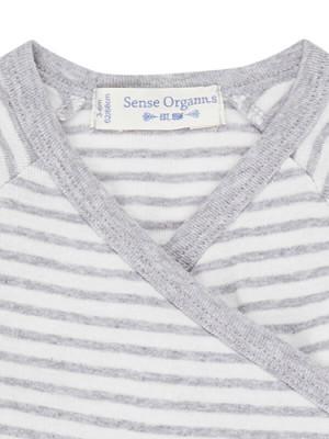 Body bebe Ygon Grey Stripes
