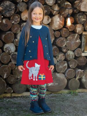 Cardigan tricotat Emilia, steluţe brodate