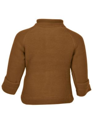 Jachetă cu mănuşi, lână fleece Rubber