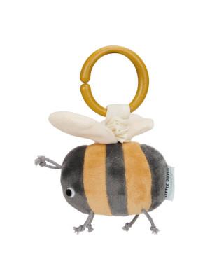 Jucărie din pluş cu vibraţii Albinuţă, colecţia Little Goose