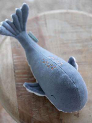 Jucărie pluş Balena Ocean Blue 25 cm