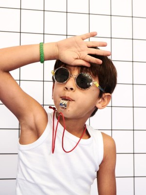 Ochelari soare copii Round Zigzag, 4-6 ani