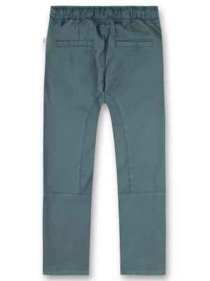 Pantaloni denim băieţi Sanetta Pure, albastru petrol