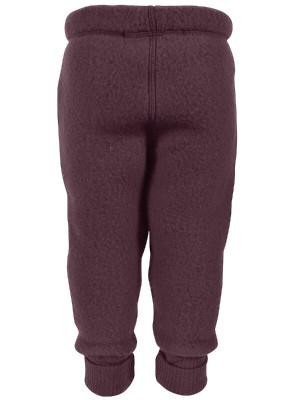 Pantaloni lână fleece Fudge