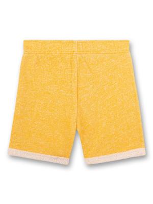 Pantaloni scurţi galbeni, bumbac organic